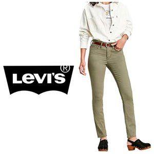LEVI'S Kaki Demi Curve Skinny Jeans